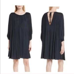Elizabeth and James swing pleated dress.